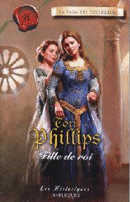 La saga des Cavendish, tome 3 : Fille de roi de Tori Phillips Hh252